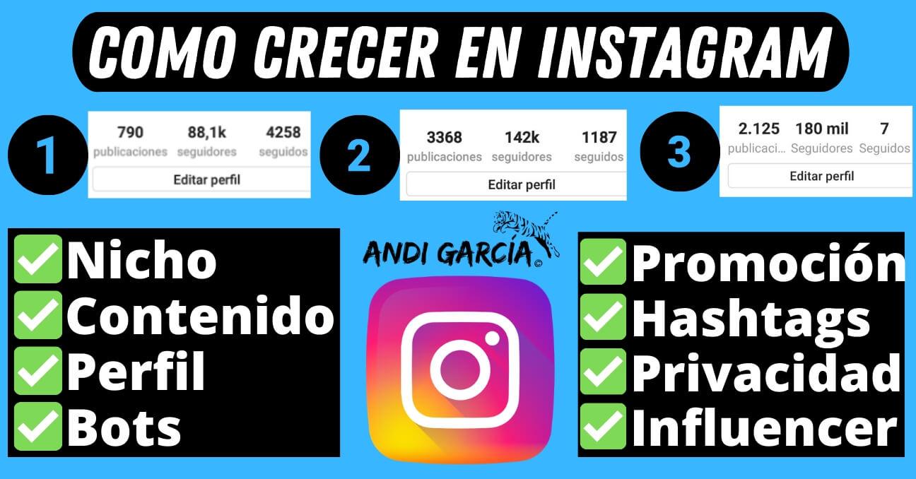 Como crecer en Instagram 2020