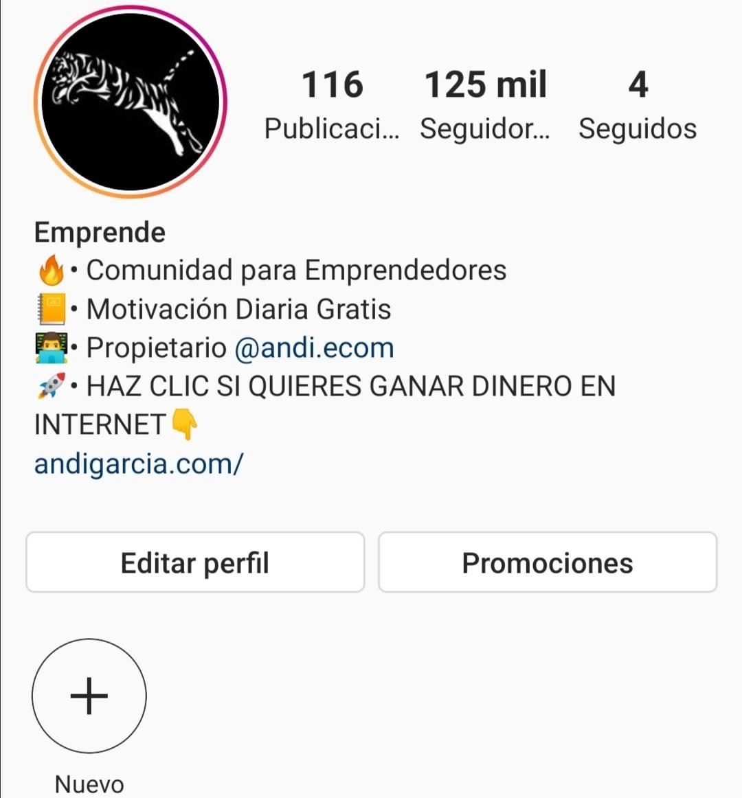 Perfil Instagram Forax