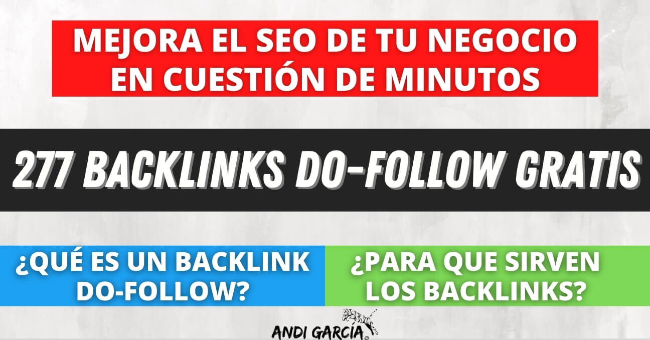 Backlinks dofollow gratis 2020
