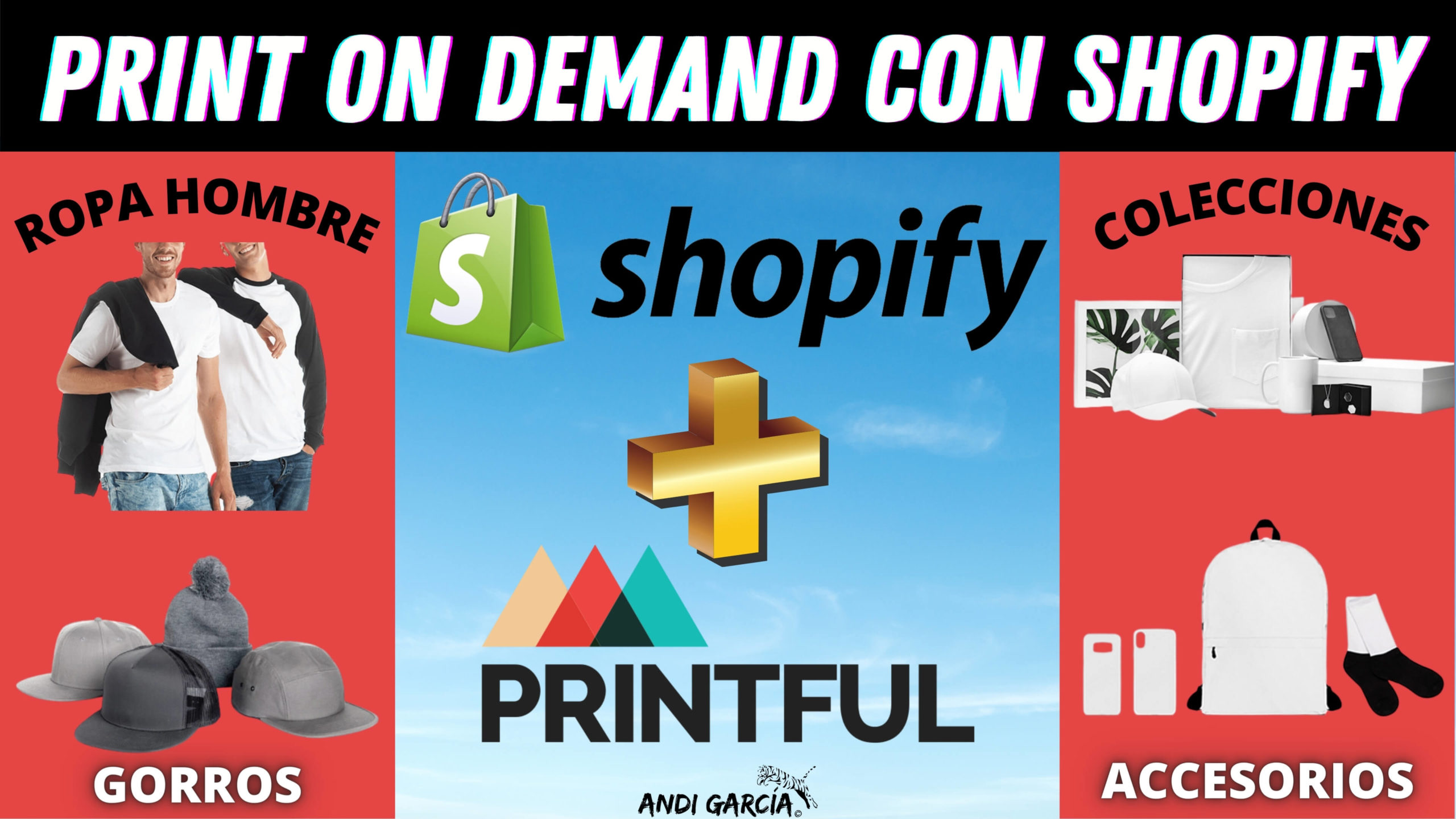 PRINTFUL CON SHOPIFY