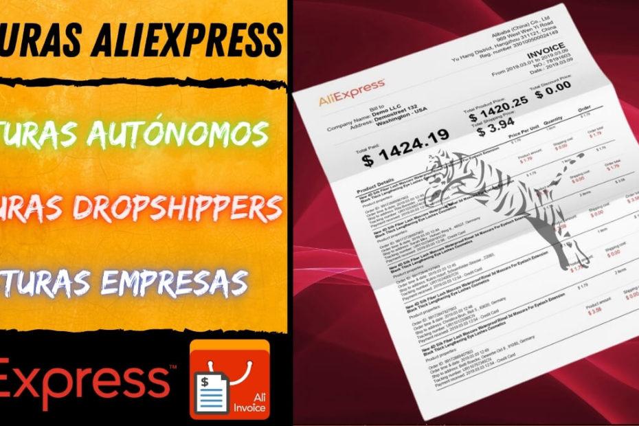 facturas aliexpress