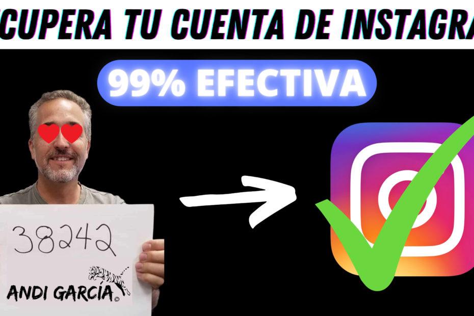 recupera tu cuenta de instagram