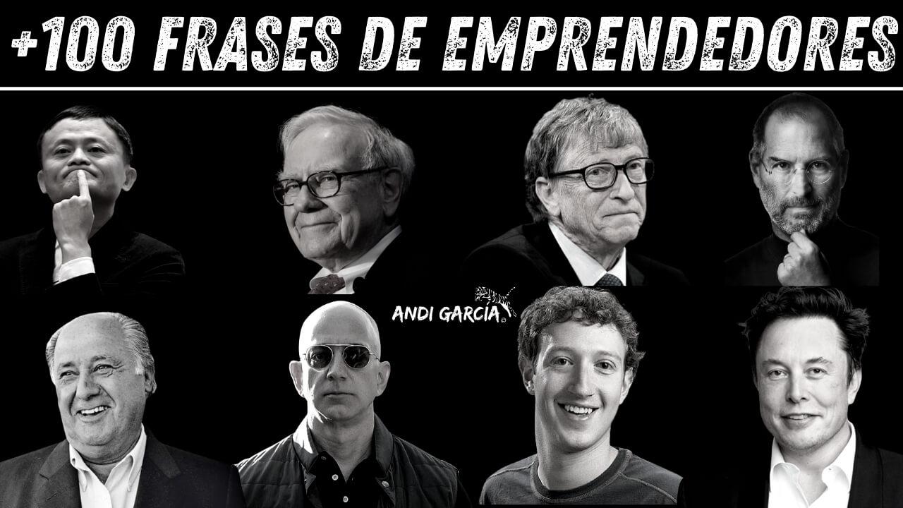 Frases de Emprendedores