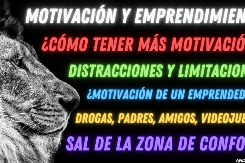 motivación y emprendimiento