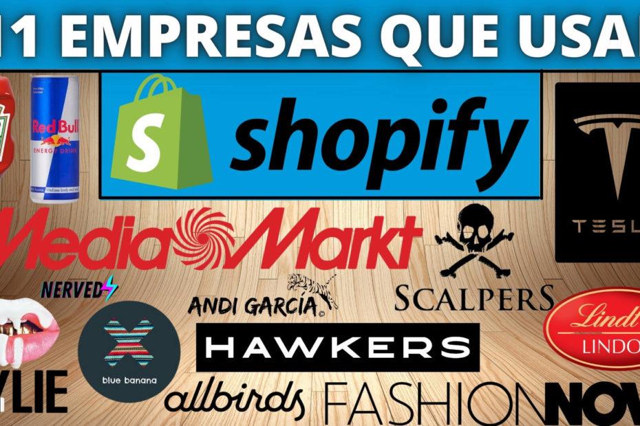 ejemplo tiendas shopify