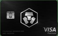 Obsidian Black MCO Visa Card 50000 MCO Stake